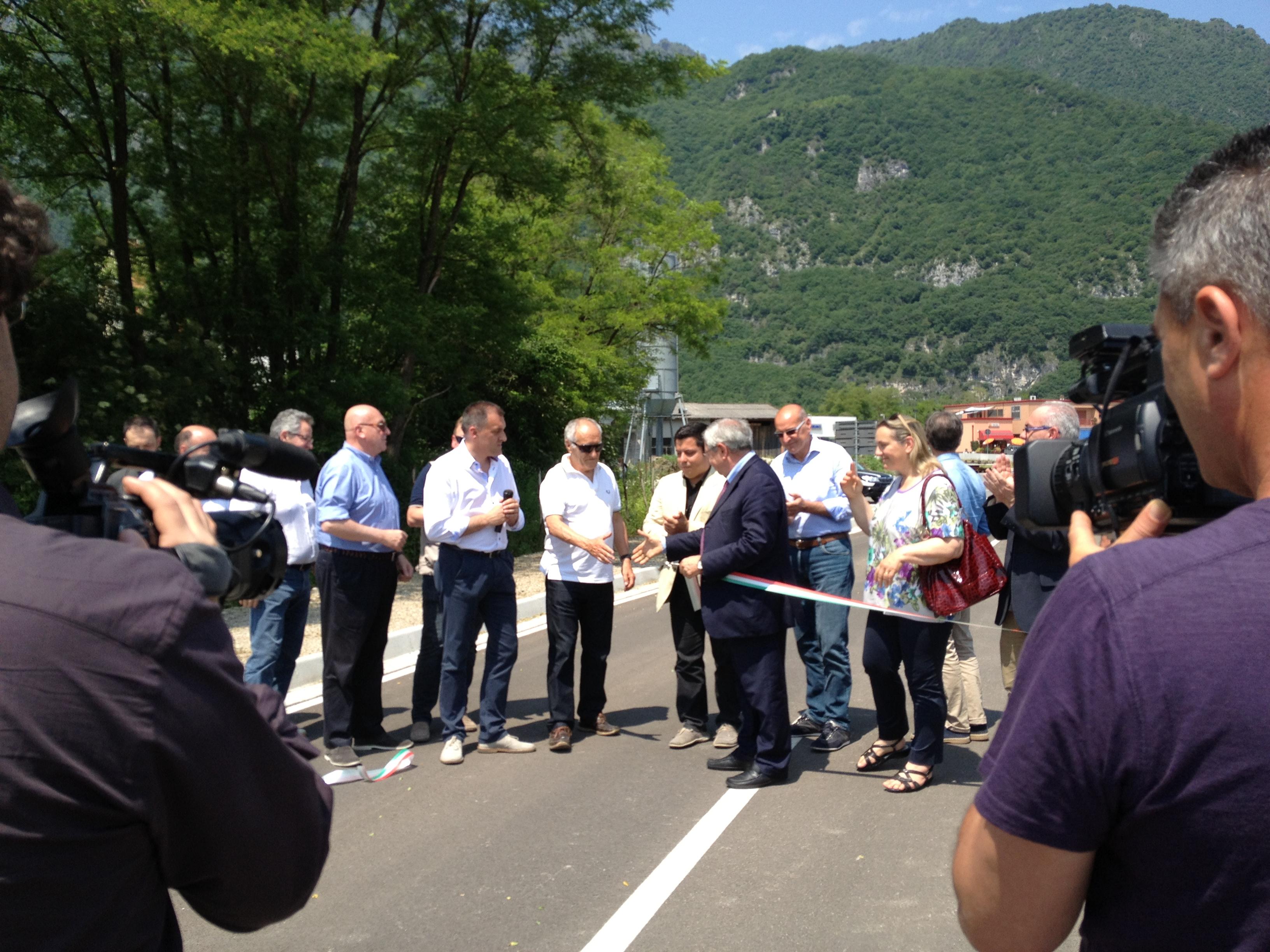 Baretta e De Menech - Inaugurazione Strada  (49)