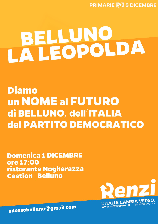 BELLUNO-LEOPOLDA-01.12.2013