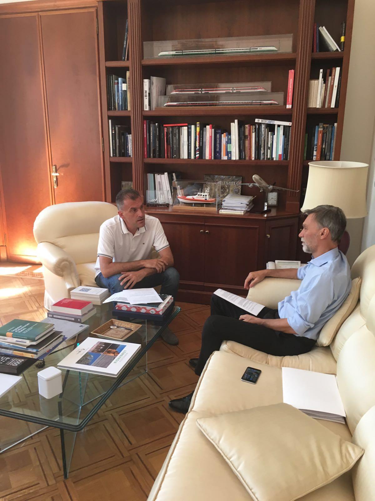 Incontro De Menech-Delrio _ Roma 09.08.2016 (2)