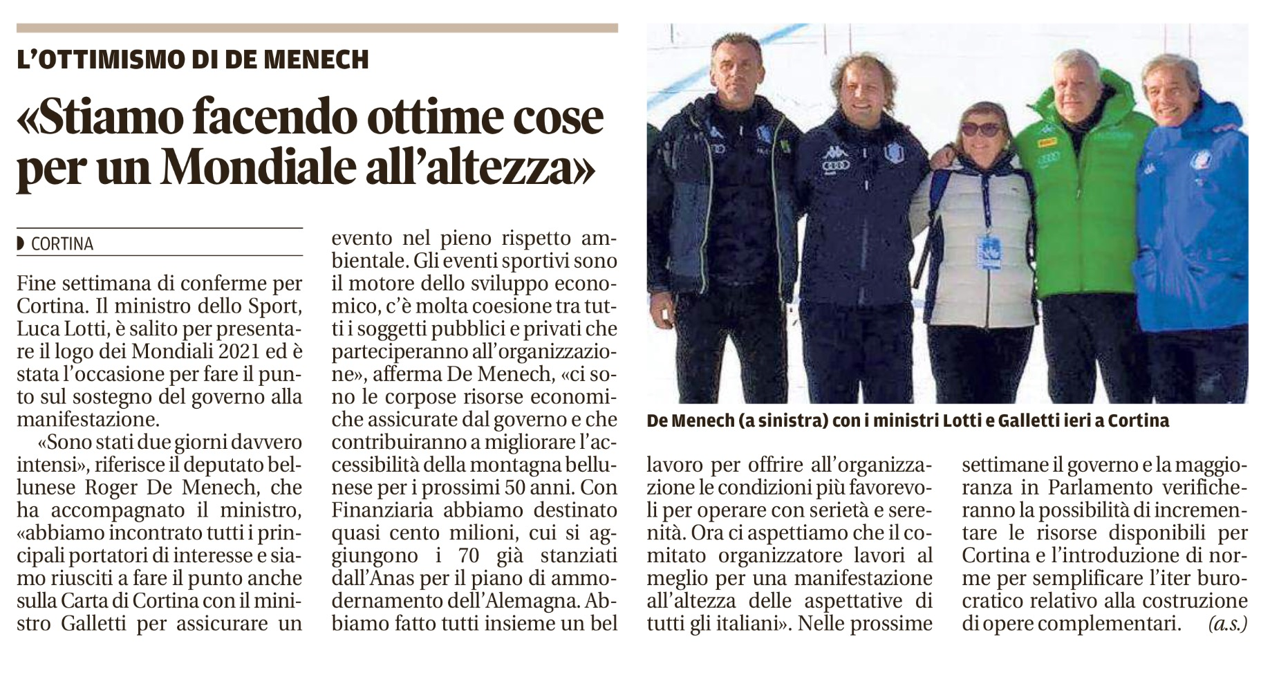 Corriere delle Alpi _ Cortina 29-01-17 (1)